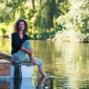 Verjun Thal auf einem boot